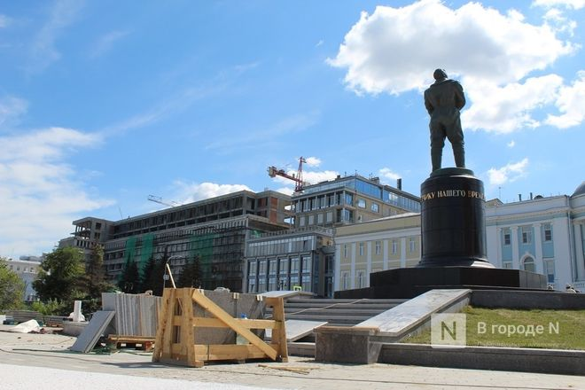 Чкаловскую лестницу открыли, несмотря на продолжающиеся ремонтные работы - фото 20