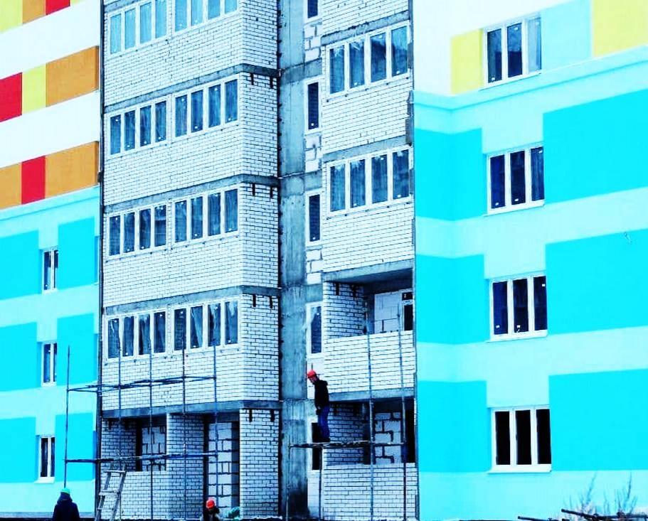 ЖК «Салют» достроен в Дзержинске: новоселье запланировано на осень - фото 1