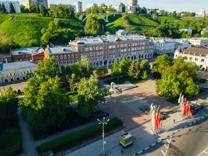 Площадь Маркина, сквер Свердлова и территорию у канатной дороги начали благоустраивать к 800-летию Нижнего Новгорода