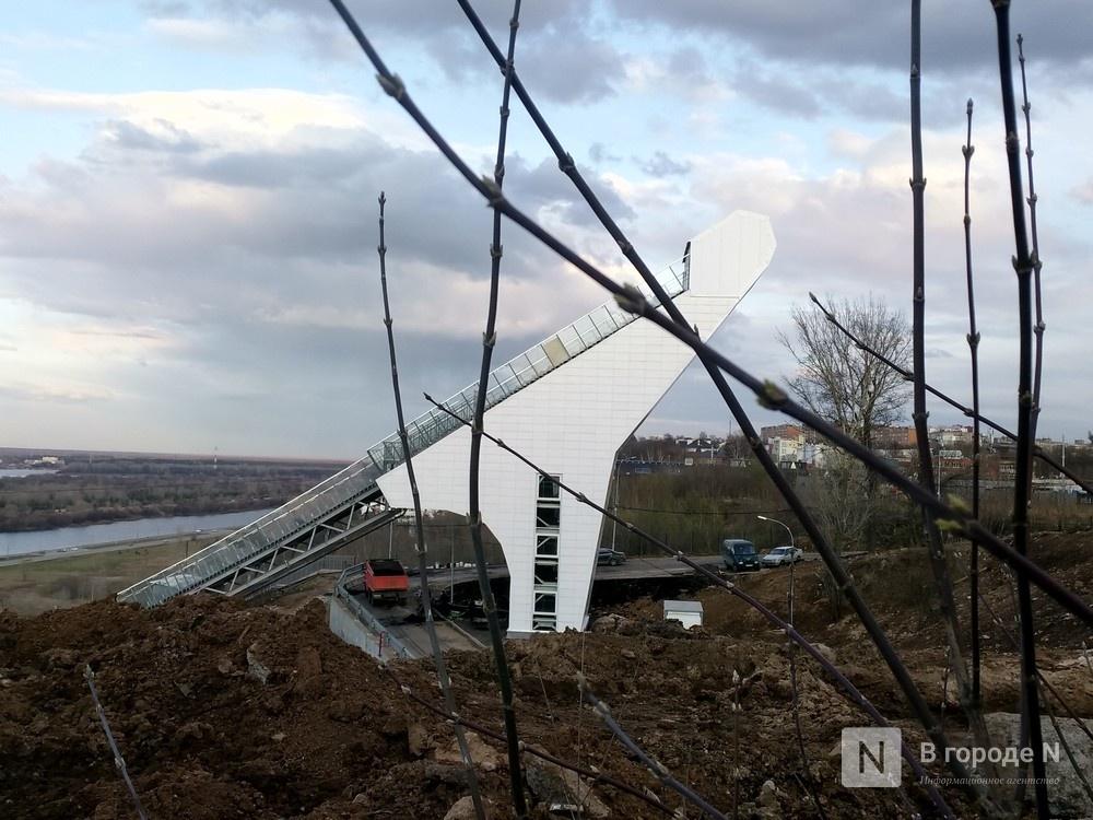 Работы по озеленению территории у нижегородского трамплина завершатся к маю - фото 1