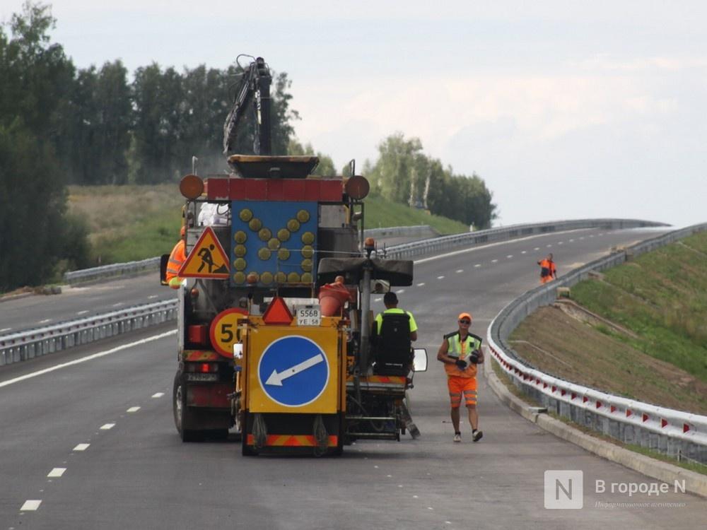 Асфальт заменили на участке дороги Кстово — Дальнее Константиново — Нижний Новгород - фото 1