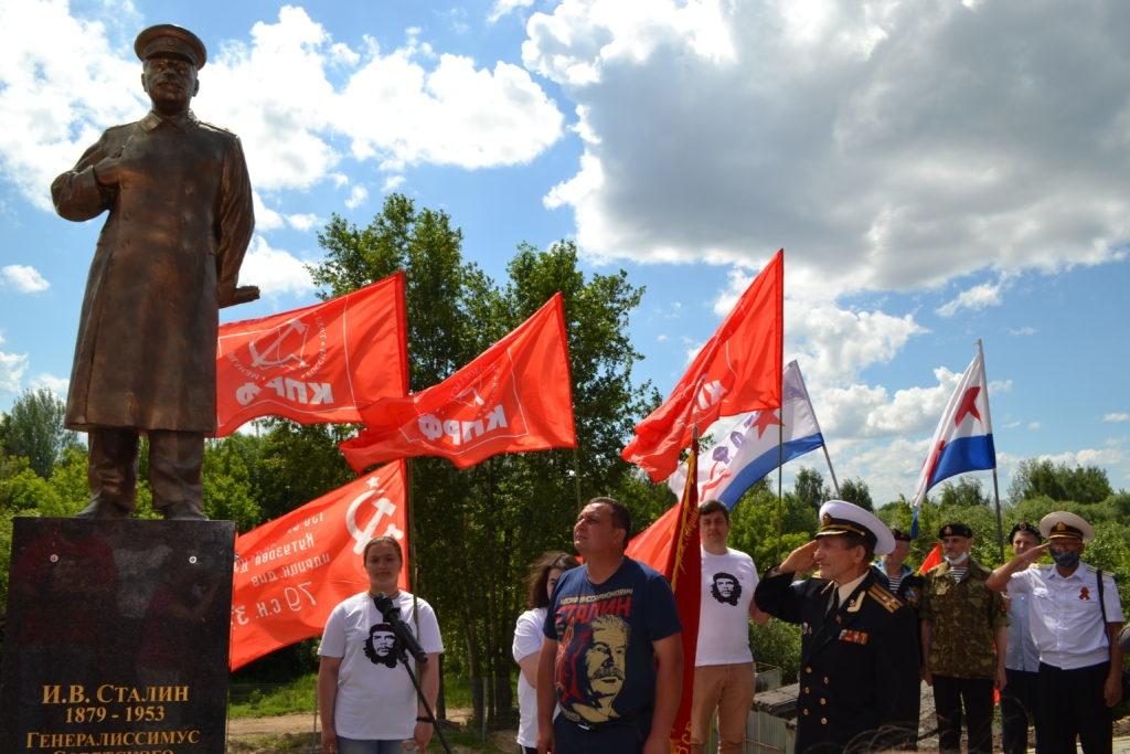 Памятник Сталину установили на Бору - фото 1