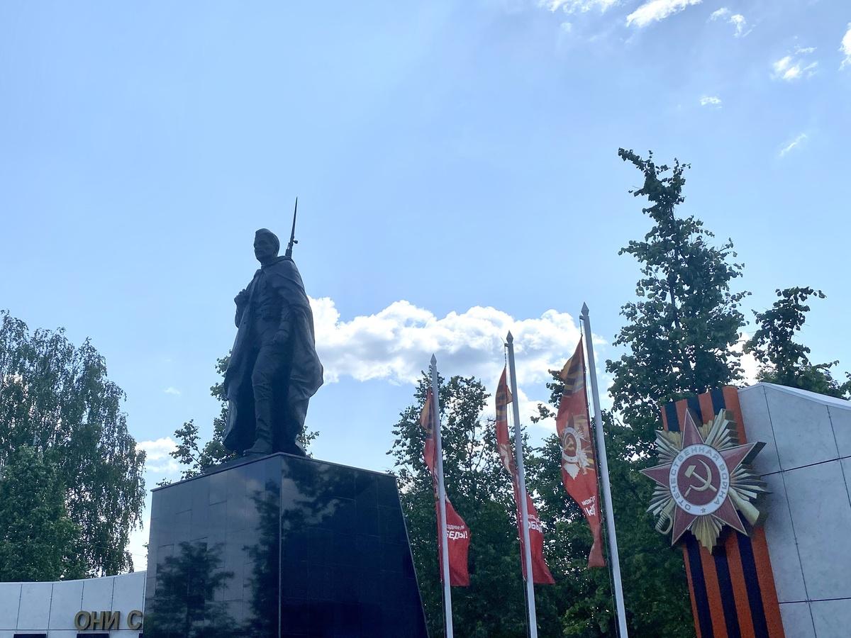 Новый Мемориал воинской славы появился в поселке Ковернино - фото 1