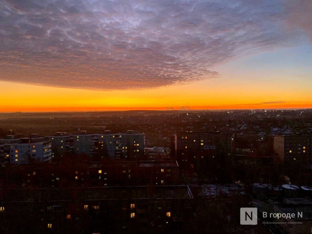 Утреннее небо поразило жителей Нижнего Новгорода - фото 9