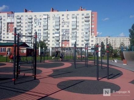 Четвертая воркаут площадка открылась в Нижнем Новгороде