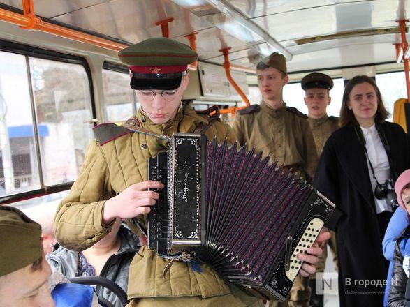 «Трамвай Победы» начал ходить по Нижнему Новгороду - фото 31