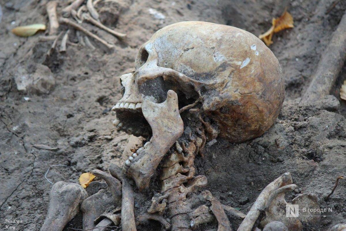 Более 700 захоронений обнаружили в Нижегородском кремле - фото 1