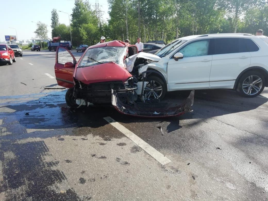 Женщина погибла в аварии с участием трех автомобилей в Советском районе - фото 3