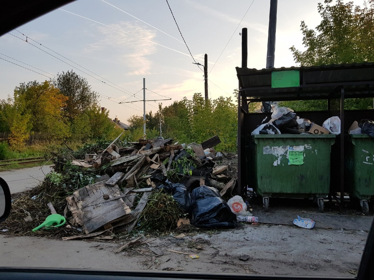 Стихийные свалки появляются на окраинах Нижнего Новгорода - фото 1