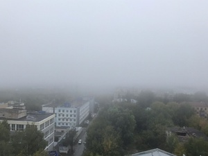 Мутное торжество: в День города Нижний Новгород окутал туман