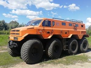Нижегородский арктический вездеход представили на выставке «Армия-2020»