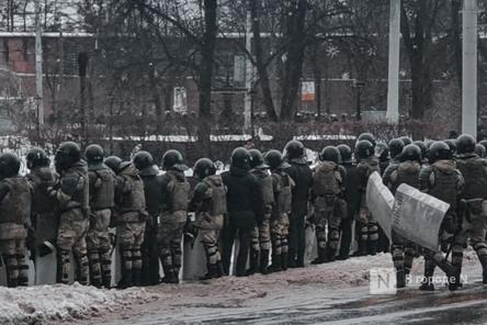 Семеро участников митинга против коррупции в Нижнем Новгороде оштрафованы