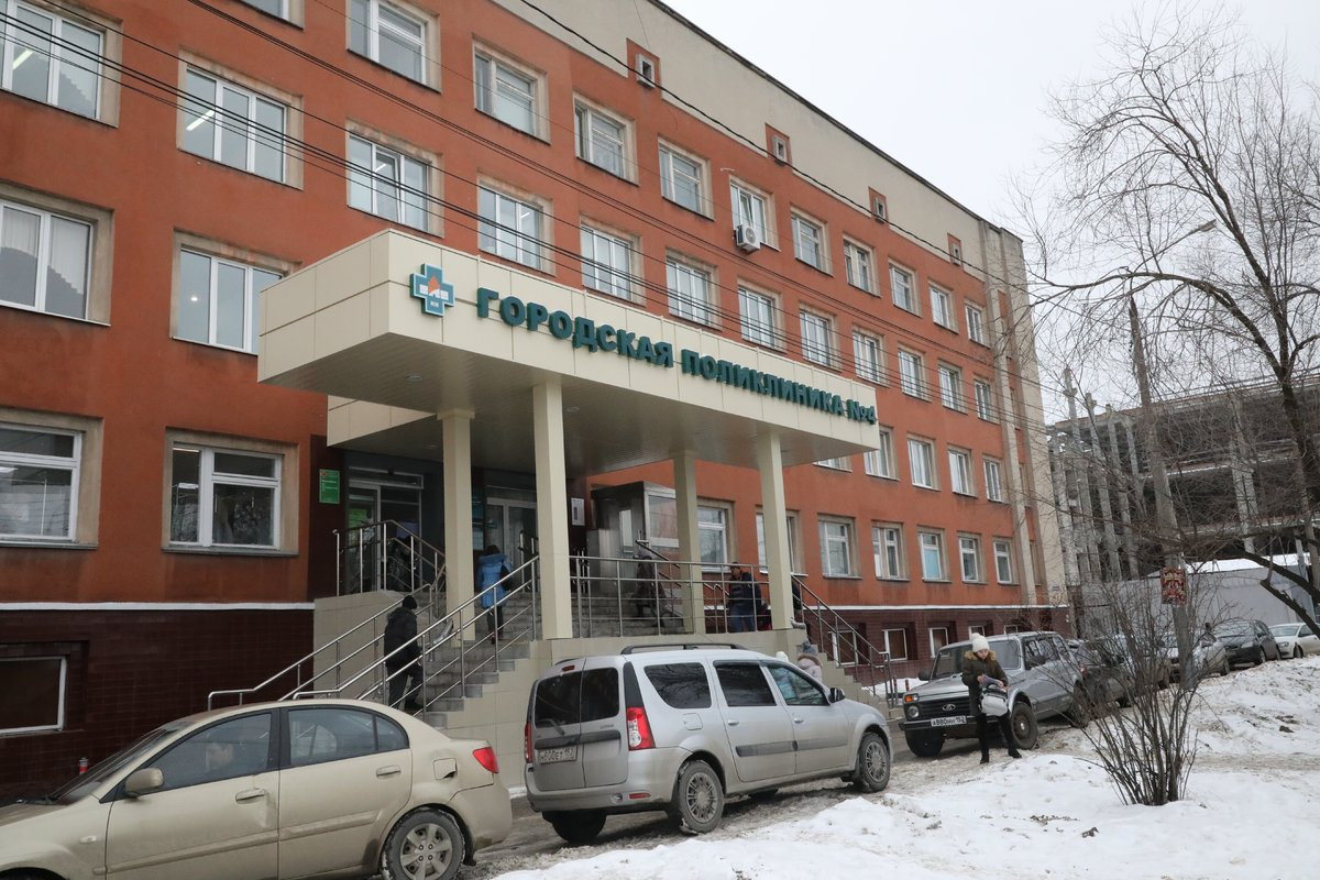 В поликлинике №4 в Канавинском районе завершен ремонт
