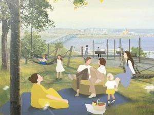 Плодовый сад и площадка для йоги: как изменится набережная Федоровского в 2021 году