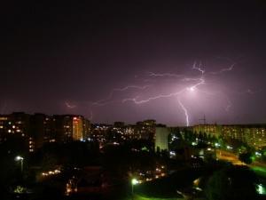 На Нижегородскую область вновь надвигаются грозы