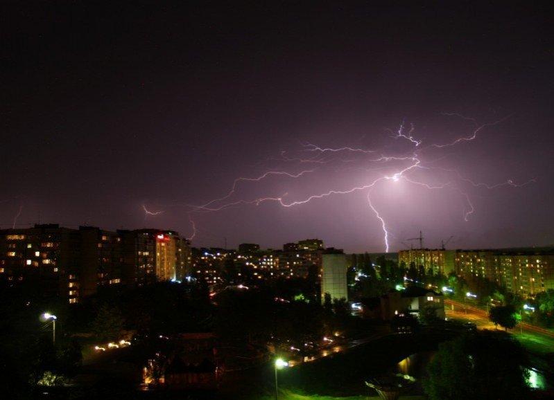 На Нижегородскую область вновь надвигаются грозы - фото 1