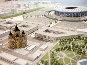 Первый футбольный матч на новом стадионе «Нижний Новгород» состоится 15 апреля