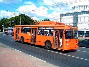 Троллейбус №31 временно прекратит движение в Нижнем Новгороде