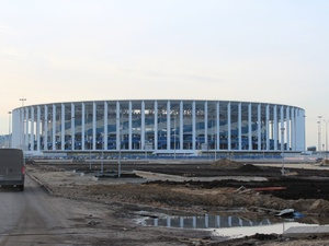 Болельщиков информируют о маршрутах движения на стадион «Нижний Новгород» во время тестового матча