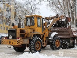 Более 10 тысяч кубометра снега вывезли с нижегородских улиц
