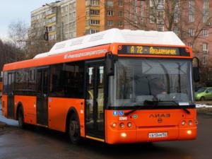Общественный транспорт в Нижнем Новгороде будет ходить по воскресному расписанию на следующей неделе