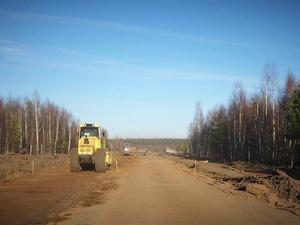Строительство дороги к деревне Бутская возобновили в Лукояновском районе