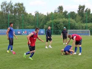 Дмитрий Черышев провел первую тренировку ФК «Нижний Новгород» (ФОТО)