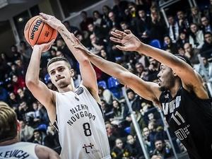 Нижегородские баскетболисты обыграли латвийский ВЭФ в Лиге чемпионов