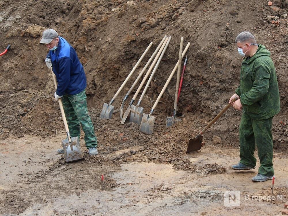 Археологические раскопки завершились в центре Нижнего Новгорода - фото 1