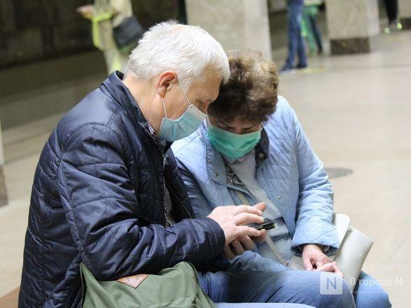 200 пассажиров нижегородского метро получили бесплатные маски - фото 8