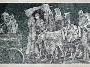 В Нижний Новгород привезут литографии Леонида Строганова