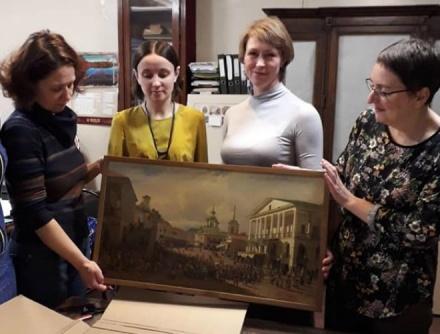 Картины Верещагина и Нейского представят нижегородцам после реставрации