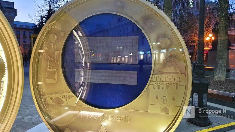 Часы обратного отсчета до 800-летия Нижнего Новгорода сломались на второй день - фото 2