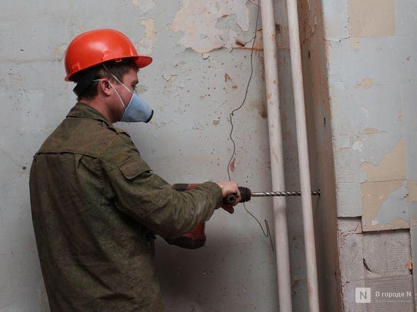 Инъекция для стен: как идет реставрация фасада нижегородской фабрики «Маяк» - фото 14