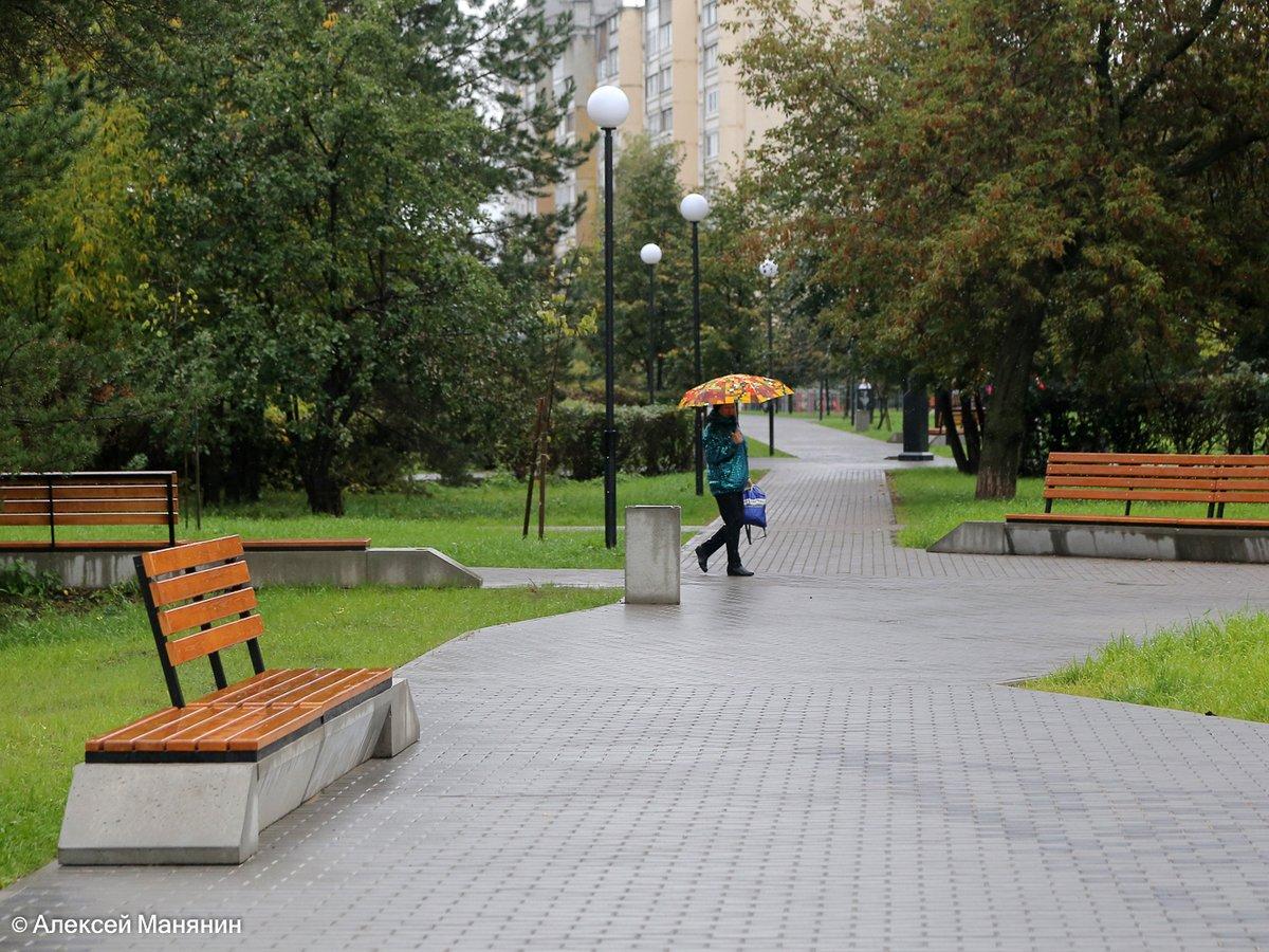 Обновленный сквер Грабина открыли в Московском районе - фото 1
