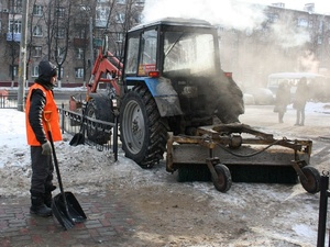 Нижегородским муниципальным служащим грозят штрафы за нечищеные дороги и тротуары