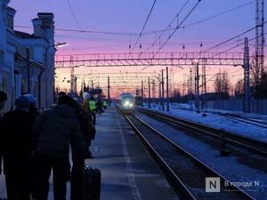 Стало известно, какие остановки отменят на зиму нижегородским пригородным электричкам