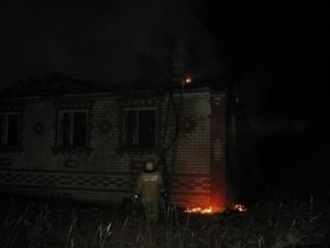 Нижегородец погиб при пожаре в частном доме