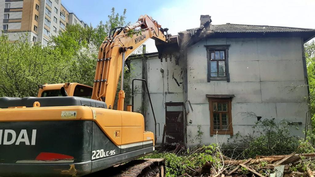 Четыре аварийных дома снесли в Сормовском районе - фото 1