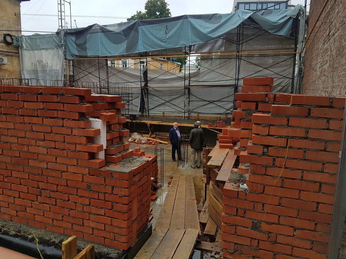 Реконструкция «Шахматного дома» возобновилась после переработки проекта - фото 1