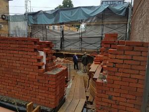 Реконструкция «Шахматного дома» возобновилась после переработки проекта