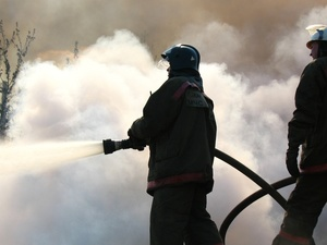 Пожар в здании Выксунского металлургического завода ликвидирован