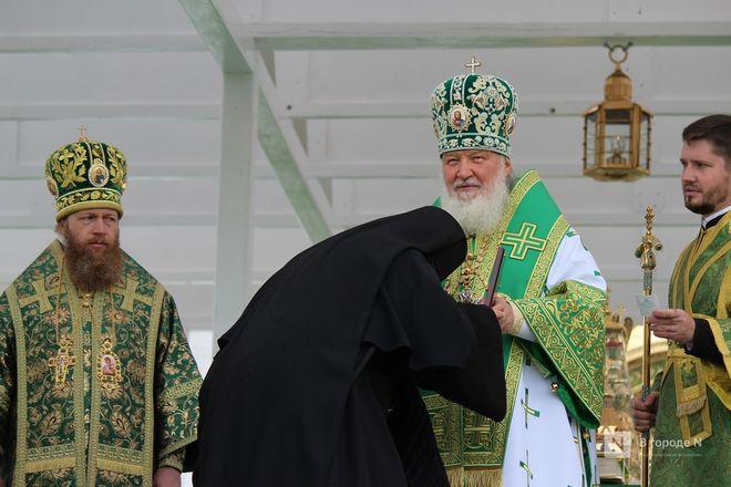 Патриарх Кирилл возглавил божественную литургию в Дивееве  - фото 34