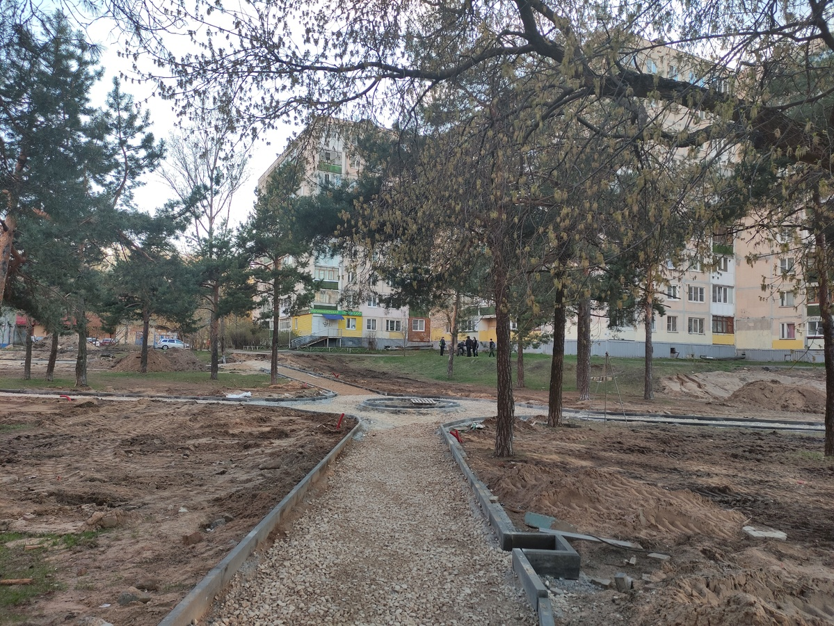 Два детских игровых комплекса появятся также в сквере на проспекте 70 лет Октября в Нижнем Новгороде. - фото 1