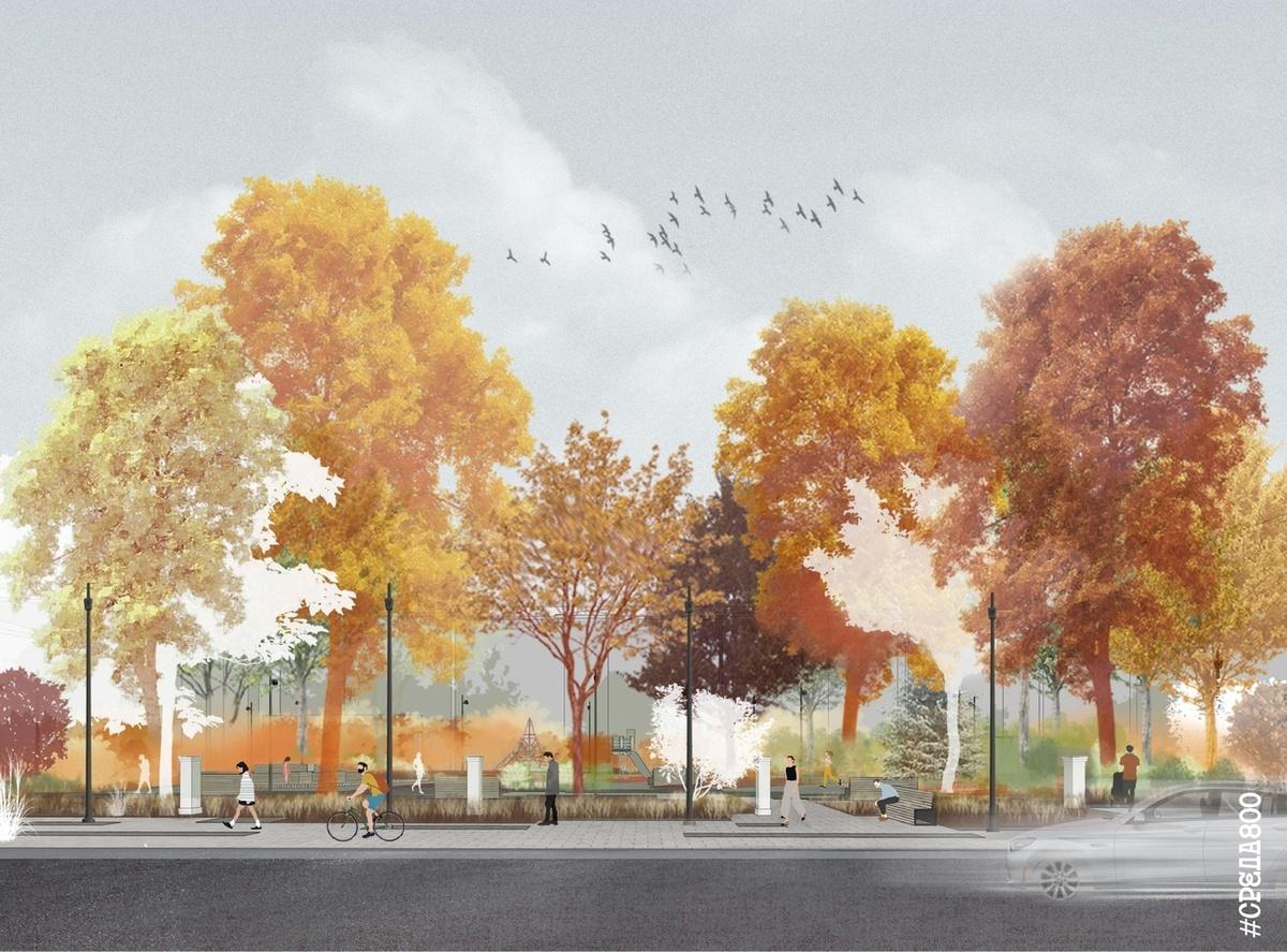 Карманные парки и меньше стихийных парковок: что изменится на Алексеевской - фото 3