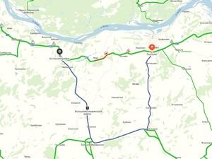 На 489 километре трассы М-7 в Лысковском районе ввели реверс