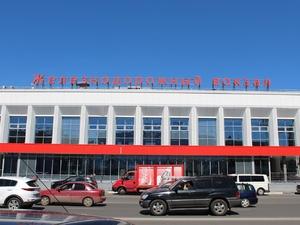 На Московском вокзале с потолка хлынула вода (ВИДЕО)