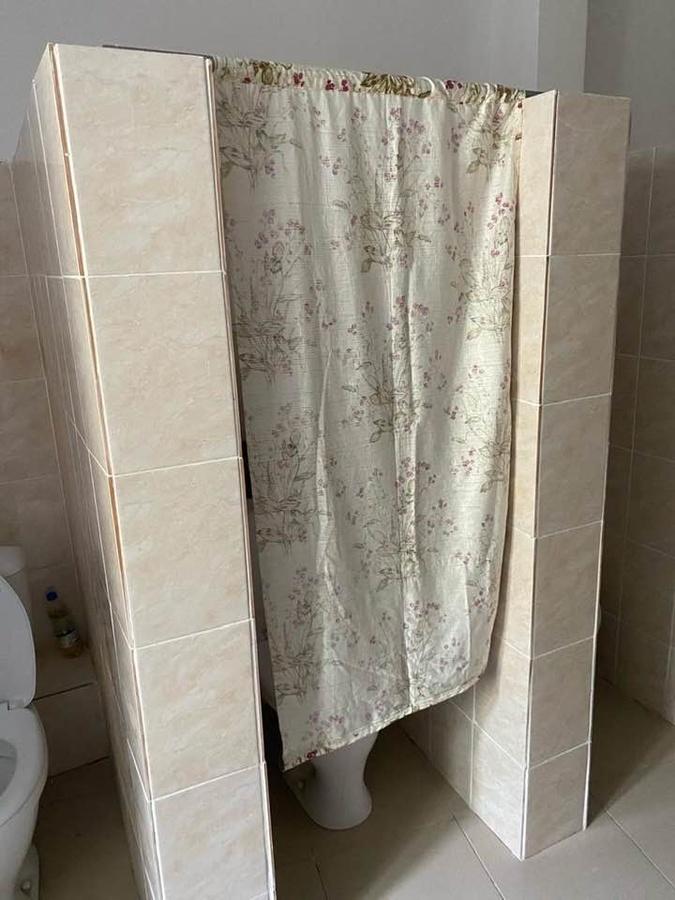Соцсети: туалет со шторкой вместо двери сделали в нижегородской гимназии № 1 - фото 1
