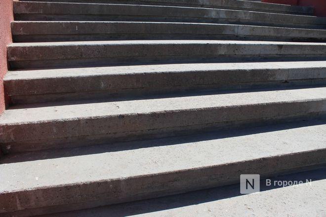 Чкаловскую лестницу открыли, несмотря на продолжающиеся ремонтные работы - фото 37