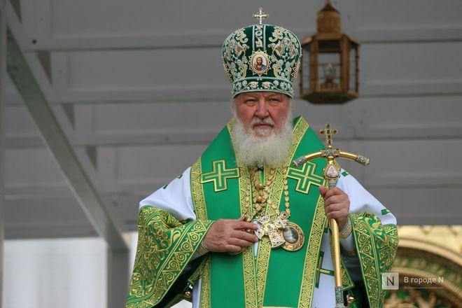 Патриарх Кирилл возглавил божественную литургию в Дивееве  - фото 30